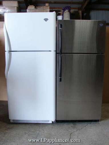 refrigerator 18. 21 cu. ft. white refrigerator 18 o