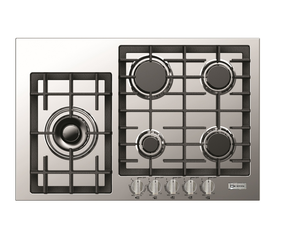 Countertop Drop In Stove : LP & natural gas counter top drop in stove burners by Verona